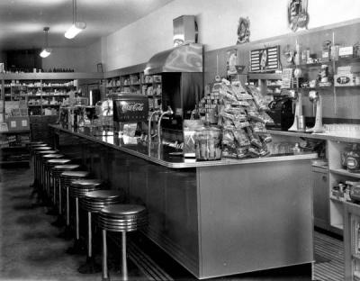 Kry Drug Store, Winter Haven, FL 1940's
