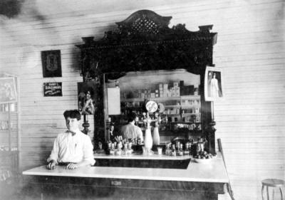 Langford Drugstore - Fort Meade, Florida, 1908